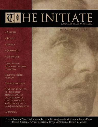 The Initiate 2: Journal Of Traditional Studies