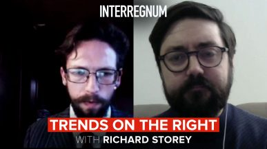 Trends On The Right With Richard Storey